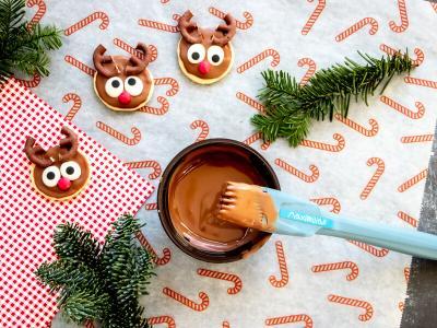 Cute reindeer cookies | StickerKid Singapore